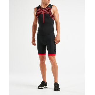 2XU 2XU Active Trisuit Men Black / Red