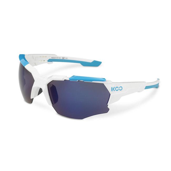 Kask Koo Orion Fietsbril Wit / Lichtblauw