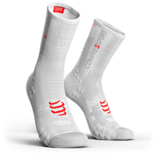 Compressport Chaussettes Compressport PRORACING V3.0 Blanches