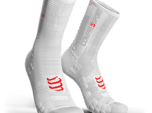 Compressport Compressport PRORACING V3.0 Cycling Socks White