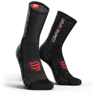 Compressport Compressport PRORACING V3.0 Fahrradsocken Schwarz