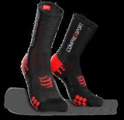 Compressport Compressport PRORACING V3.0 Calcetines de ciclismo Negro-Rojo