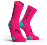 Compressport Compressport PRORACING V3.0 Calcetines de ciclismo Fluo rosa