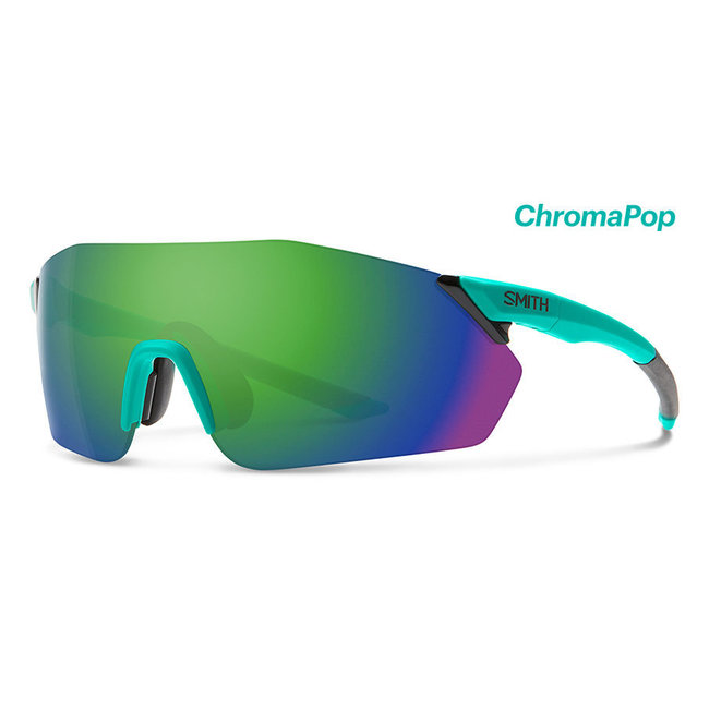 Smith Reverb fietsbril Mat-Jade met Chroma Green lens