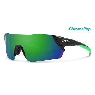 SMITH Occhiali da ciclismo Smith Attack Nero opaco con lente Reactor Chroma Verde