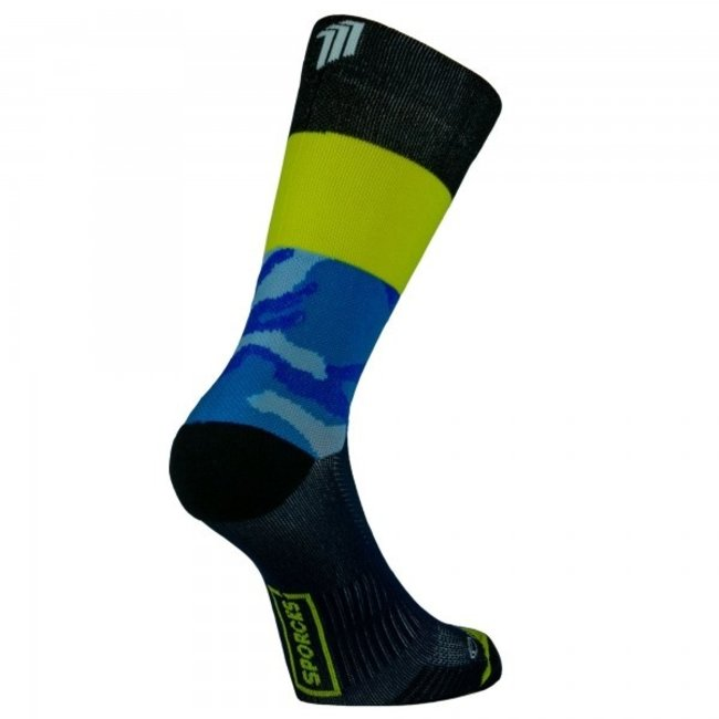 Sporcks Air Sock One Blaue Laufsocken