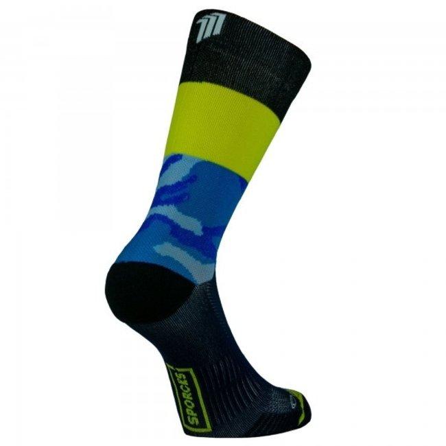 Sporcks Air Sock One Blauw Hardloopsokken