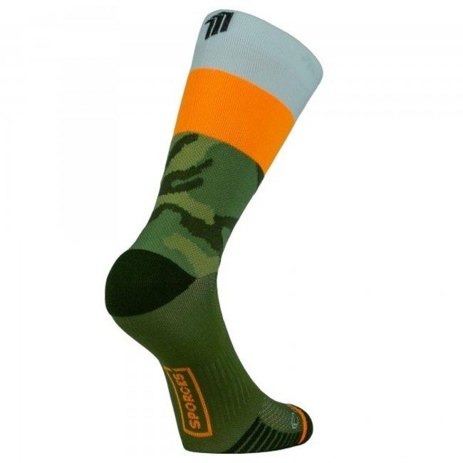 Sporcks Air Sock One Groen Hardloopsokken