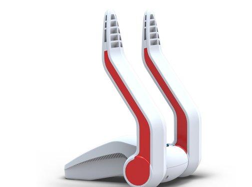 Go4Dry Schoendroger Secador de zapatos Go4Dry Blanco - Rojo