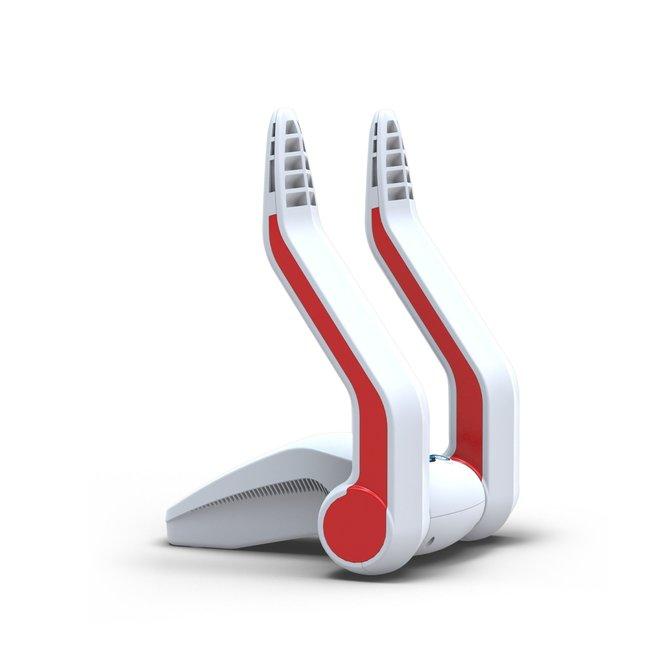 Go4Dry Schuhtrockner Weiß - Rot