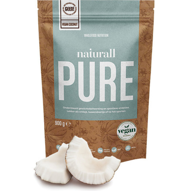 Naturall Pure Vegan Coconut Proteinepoeder