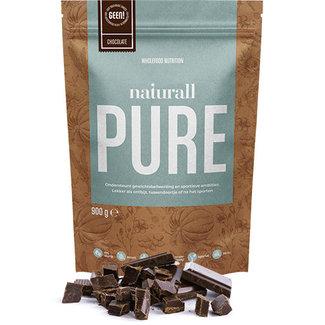Naturall Nutrition Polvere di proteine del cioccolato puro Naturall