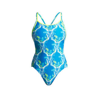 Funkita Funkita One Piece Diamond Back Damen Thirsty Cow