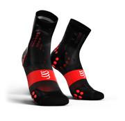 Compressport Compressport PRORACING V3.0 Calcetines de ciclismo ultraligeros Negro-Rojo