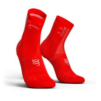 Compressport Compressport PRORACING V3.0 Ultralight Red Cycling Socks