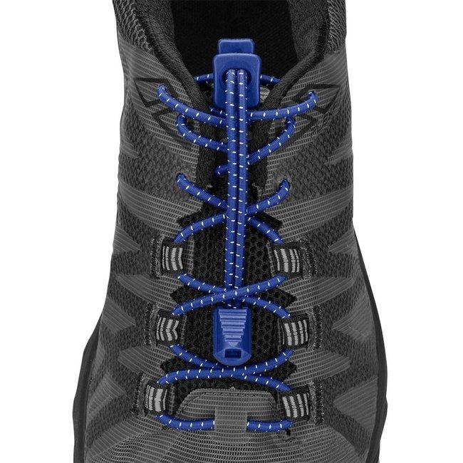 Nathan Run Laces Donker Blauw elastische veters