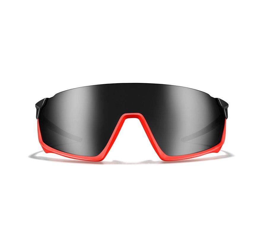 Roka GP-1 Cycling sunglasses Matt Black Frame / Dark Carbon
