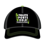 AthleteSportsWorld.com ASW Boco Technical Trucker Cap Black