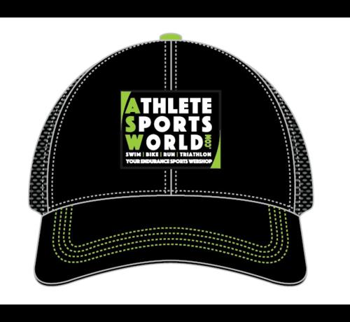 AthleteSportsWorld.com ASW Boco Technical Trucker Cap Black