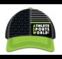 ASW Boco Technical Trucker Cap Black - Green