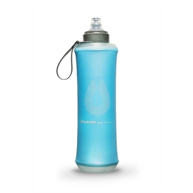 Hydrapak Crush Bottle 750 ml drinkfles Malibu Blue