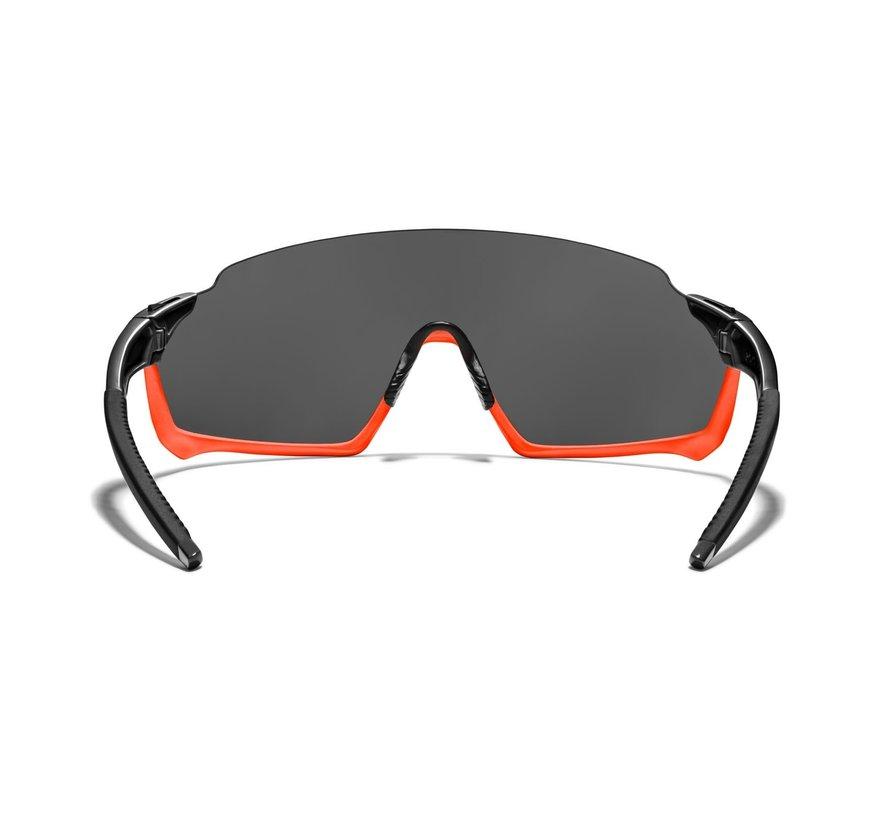 Roka GP-1xFahrradbrille  Black/Torch Frame - Black Mirror