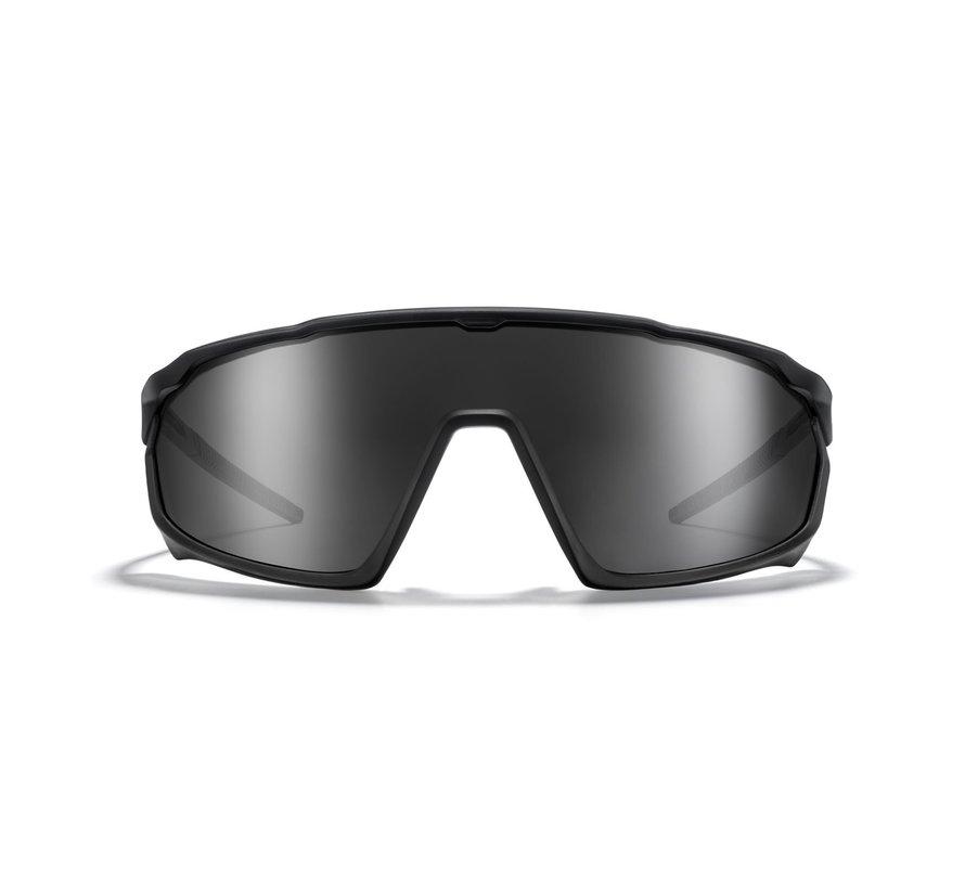 Roka CP-1 Fietszonnebril Black White Frame / HC Fusion Mirror