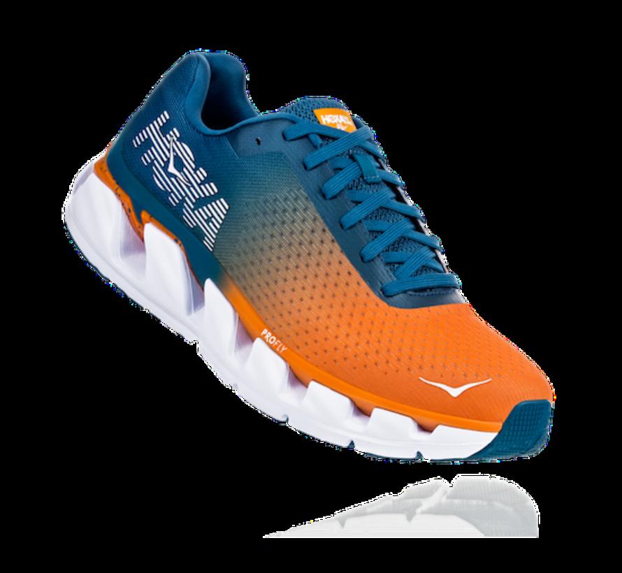 Hoka One One Elevon Men Runningshoes CORSAIR BLUE / BRIGHT MARIGOLD
