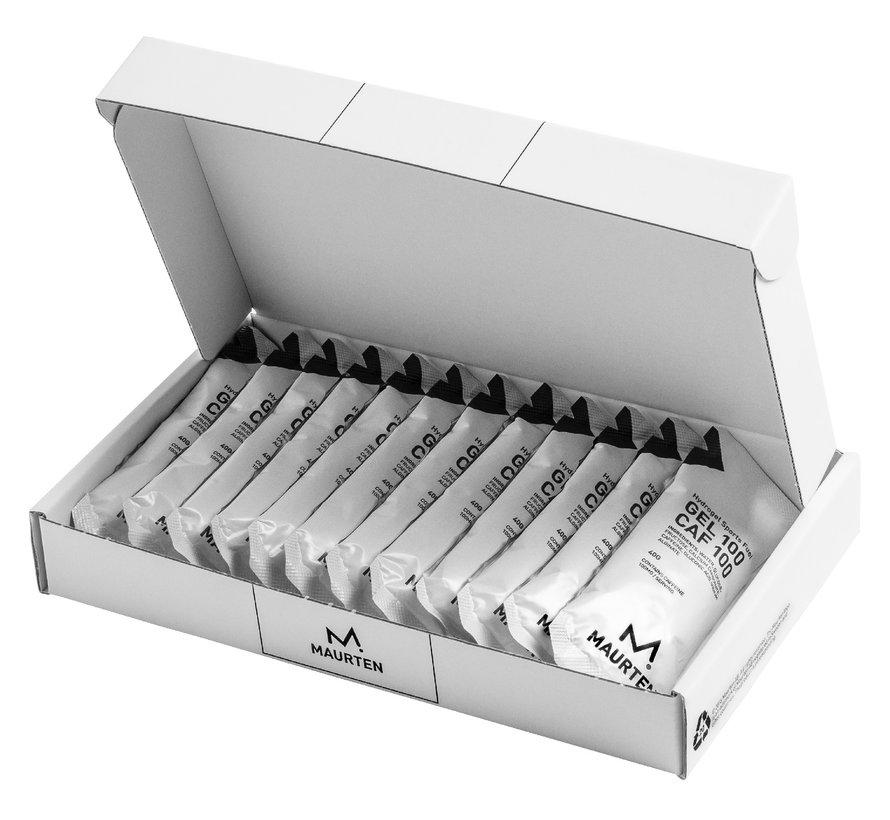 Maurten Gel100 Caffeine Energygel - BOX (12 pieces)