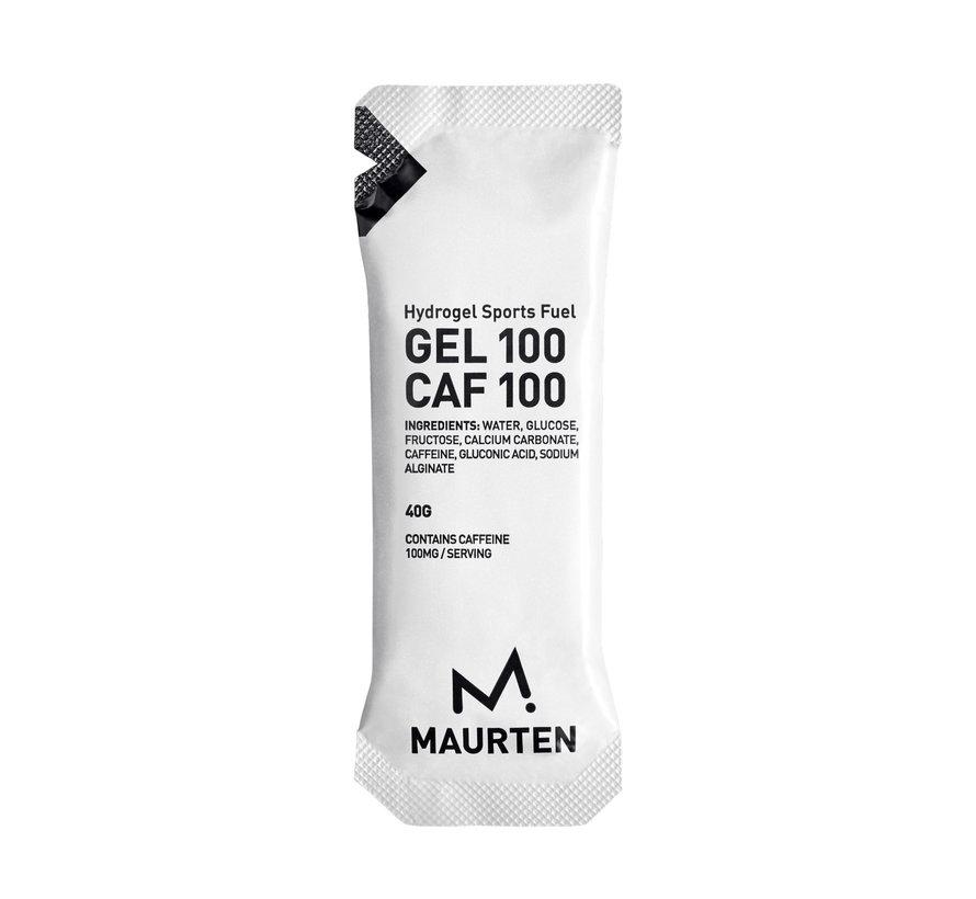 Maurten Gel100 Cafeïne Energygel - DOOS (12 stuks)