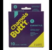 Chamois Butt'r Chamois Butt'r Eurostyle Cooling anti-schurende crème (10x 9 ml)