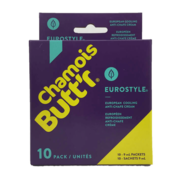 Chamois Butt'r Chamois Butt'r Eurostyle de crème de chamois rafraîchissant (10x 9 ml)