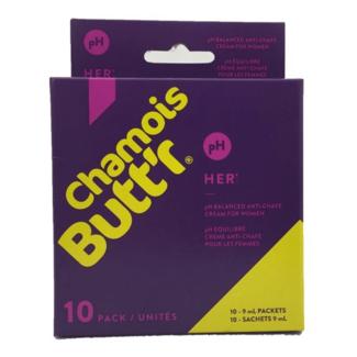 Chamois Butt'r Chamois Buttr' Original chamois creme for Women - (10x 9ml)