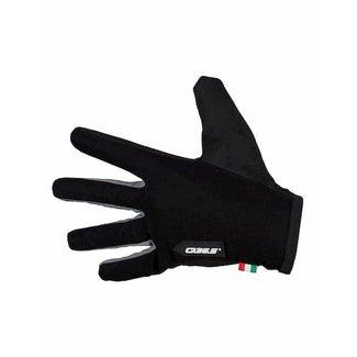 Q36.5 Cycling Clothing Q36.5 Handschoen Hybrid Que Zwart