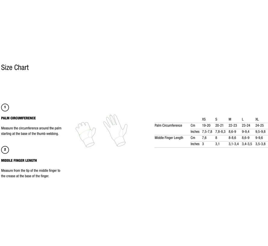 Q36.5 Glove Hybrid Que Black