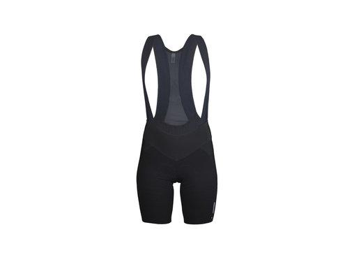 Q36.5 Cycling Clothing Q36.5 Bibshort dames Dottore L1 zwart