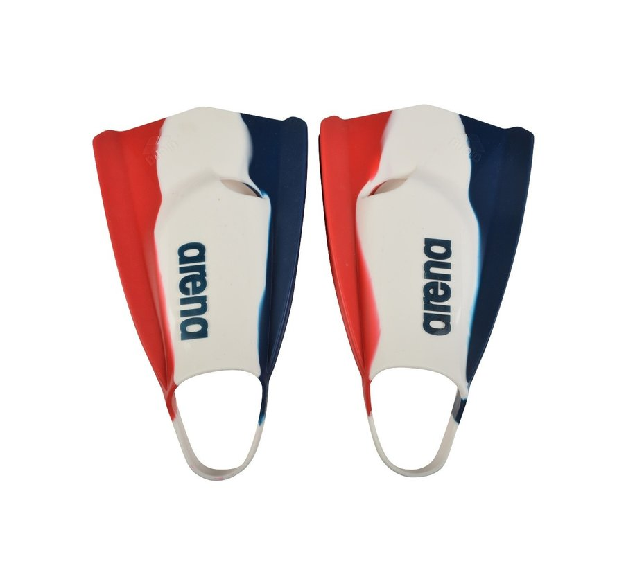 Arena Powerfin Pro Zoomers Red White Blue