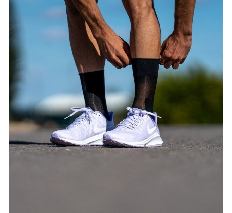 Sporcks Marathon Zwart hardloopsokken
