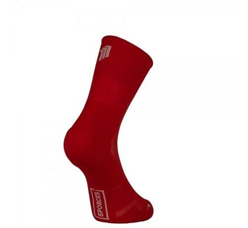 Sporcks Calcetines Sporcks Marathon Rojo corsa