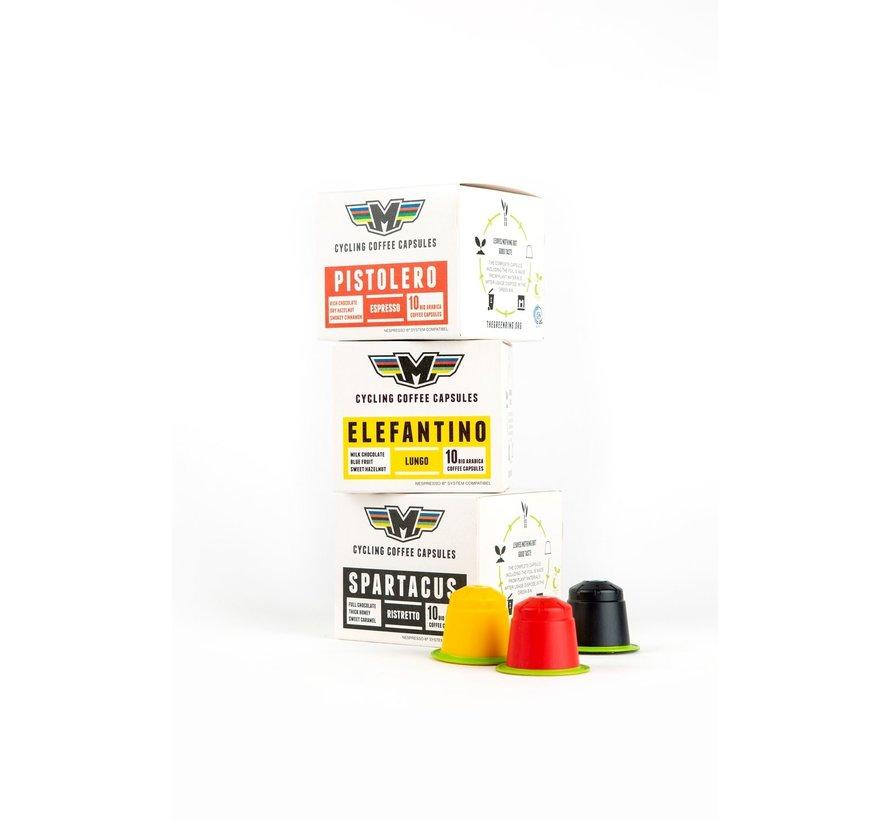 Il Magistrale Explorer Pack Cups