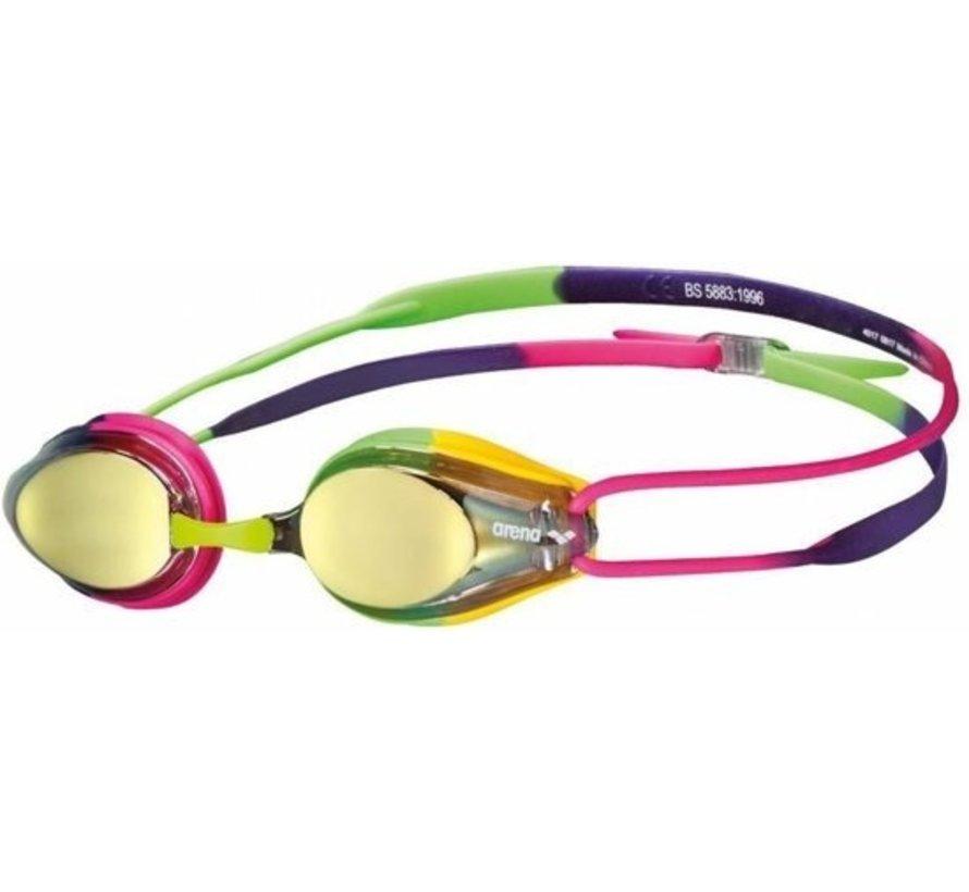 Arena Tracks Mirror swimming goggles