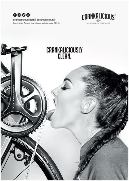 CRANKALICIOUS, een tikkeltje vreemd maar wel een schone fiets
