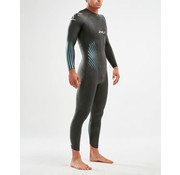 2XU 2XU P: 1 PROPEL Wetsuit Manner Schwarz / Blue Ombre
