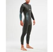 2XU 2XU P:1 PROPEL wetsuit Men Black/Blue Ombre