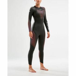 2XU 2XU P:1 Propel Wetsuit Women Black/Pink Peapock