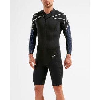 2XU 2XU Swim Run SR1 Wetsuit Heren Zwart / Surf Blauw