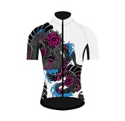 Q36.5 Cycling Clothing Q36.5 Dragonfahrrad-Hemd Kurze Ärmel Damen