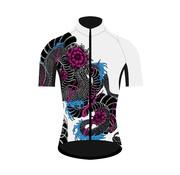 Q36.5 Cycling Clothing Q36.5 Maillot de vélo Dragon manches courtes pour femmes