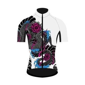 Q36.5 Cycling Clothing Q36.5 Dragon Bicycle Shirt maniche corte donna