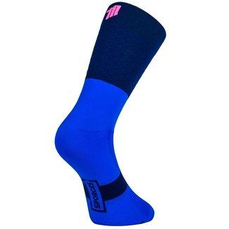 Sporcks Sporcks Marie Blanque Pro Elite Fietssokken Blauw